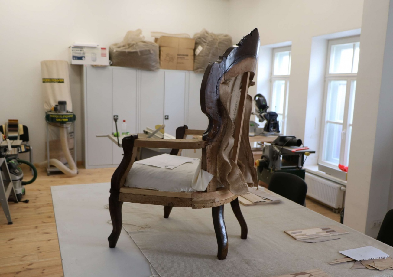 Restauruotas dar vienas Plungės Žemaičių dailės muziejaus eksponatas